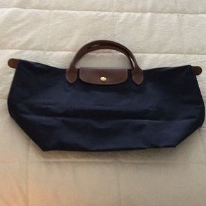 Longchamps Navy Bag